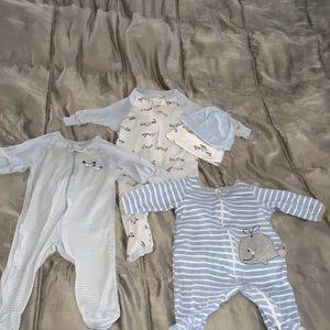 5 piece infant pjs